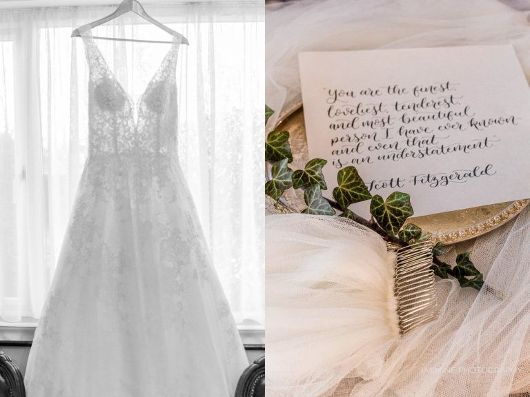 """fine art wedding dress and veil styling"""